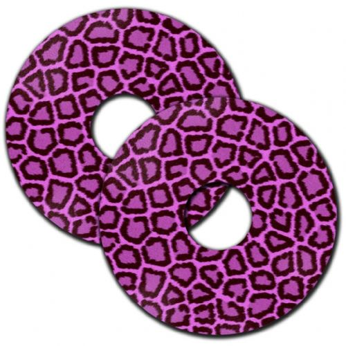PINK LEOPARD PRINT Wheelchair Spoke Guard Sticker Skins